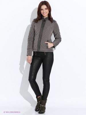 Куртка Troll. Цвет: темно-серый