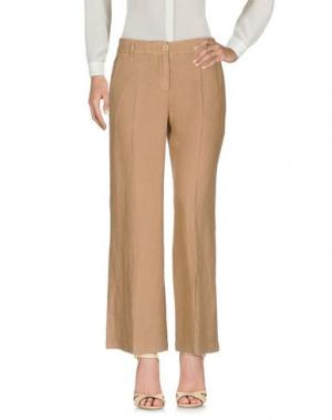 Повседневные брюки 19.70 NINETEEN SEVENTY. Цвет: верблюжий