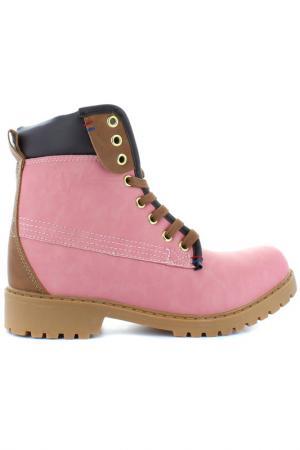Полусапожки XTI. Цвет: розовый