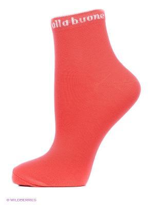Носки, комплект 5 пар Alla Buone. Цвет: красный