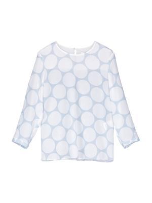 Блуза St.Emile. Цвет: светло-голубой