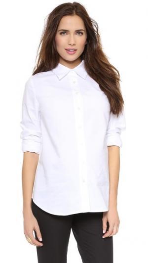 Классическая рубашка для беременных Rosie Pope. Цвет: белый