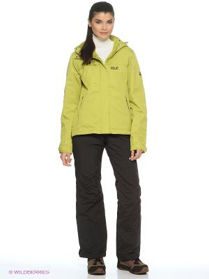 Куртка SOUTH BROOK TEXAPORE JKT W Jack Wolfskin. Цвет: желтый