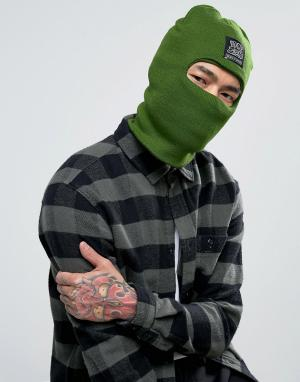Cheats & Thieves Нашивка с логотипом and Balaclava. Цвет: зеленый