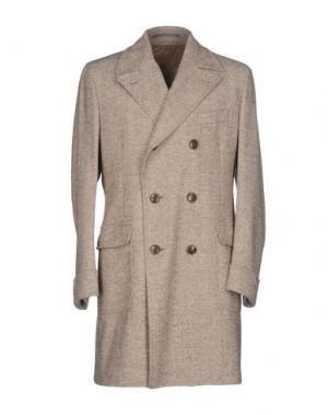 Легкое пальто CANTARELLI. Цвет: бежевый