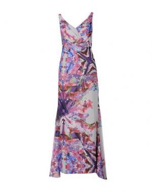 Длинное платье CAILAN'D. Цвет: сиреневый