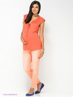 Джинсы ESPRIT. Цвет: персиковый