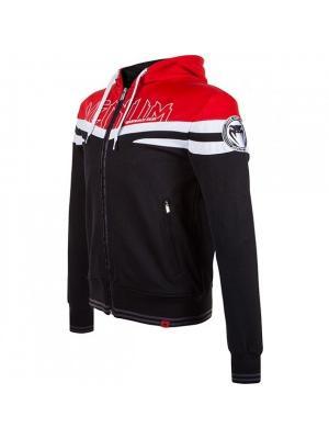 Толстовка Sharp Wand Hoody - Black/Red Venum. Цвет: красный, черный