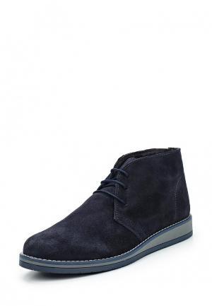 Ботинки Martin Pescatore. Цвет: синий