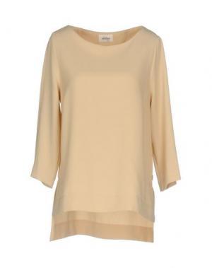 Блузка OTTOD'AME. Цвет: песочный