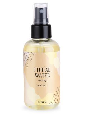 Флоральная вода апельсин тонус кожи 150 мл Huilargan. Цвет: желтый