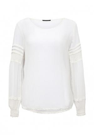 Блуза Sisley. Цвет: белый