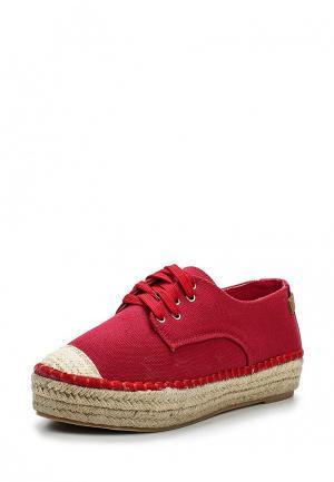 Кеды Max Shoes. Цвет: красный