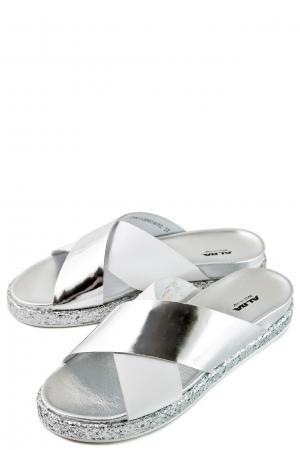 Сабо ALBA. Цвет: серебро