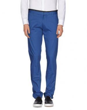 Повседневные брюки MARC BY JACOBS. Цвет: синий