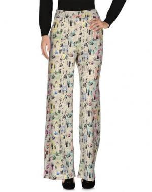 Повседневные брюки ULTRA'CHIC. Цвет: слоновая кость