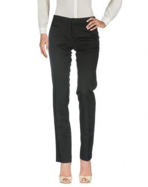 Повседневные брюки RA-RE. Цвет: черный