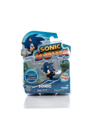 Игрушка Sonic фигурка 7,5 см, Соник Boom. Цвет: синий