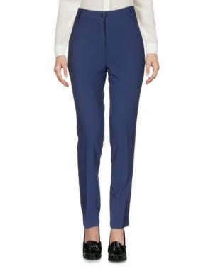 Повседневные брюки SIMONA MARTINI. Цвет: синий