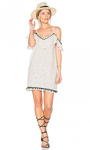 Платье cruz SAM&LAVI. Цвет: беж