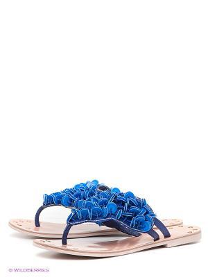 Пантолеты VelVet. Цвет: синий