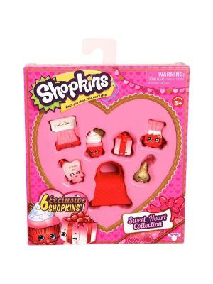 Игровой набор Shopkins  Сладкое Сердечко Moose. Цвет: розовый