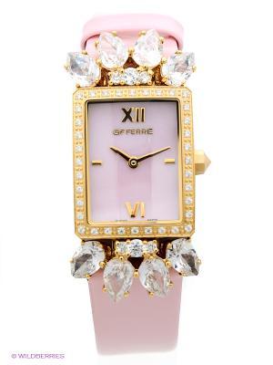 Часы GF Ferre. Цвет: бледно-розовый