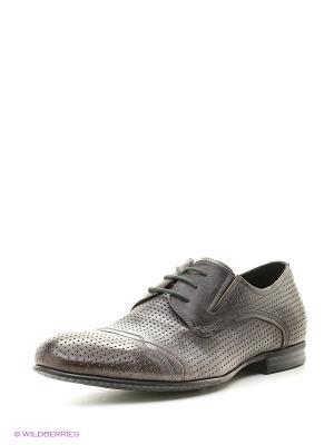 Туфли Premier. Цвет: серый