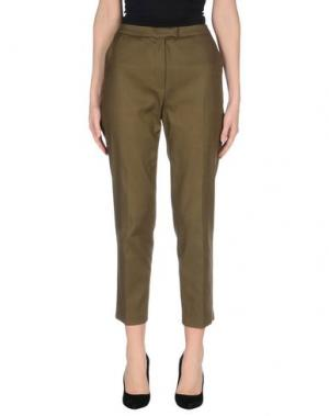 Повседневные брюки CACHAREL. Цвет: зеленый-милитари