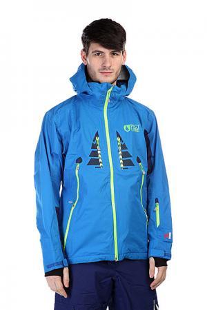 Куртка  Welcome 2 Blue Picture Organic. Цвет: голубой