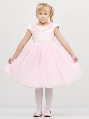 Платье Baby Moses. Цвет: розовый