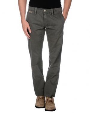Повседневные брюки CHIRIBIRI. Цвет: серый
