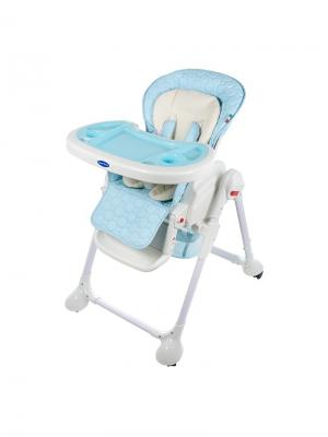 Стульчик для кормления Sweet Baby Luxor Classic Blu. Цвет: голубой