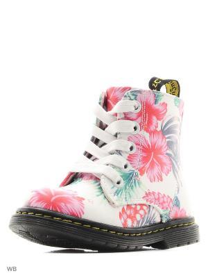 Ботинки Сказка. Цвет: белый