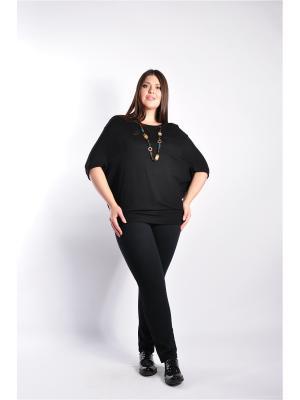 Блузка Forus. Цвет: черный