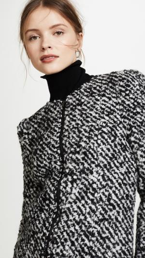 Fluffy Tweed Jacket Rebecca Taylor