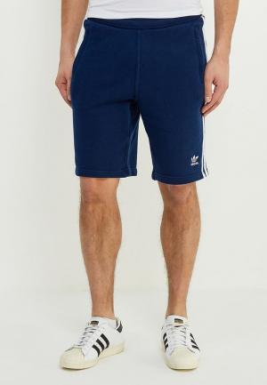 Шорты спортивные adidas Originals. Цвет: синий