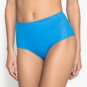 Плавки от купальника с высоким поясом La Redoute Collections. Цвет: голубой бирюзовый,синий,фиолетовый,хаки,черный