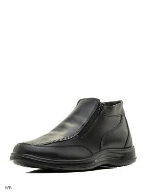 Ботинки ШК обувь. Цвет: черный