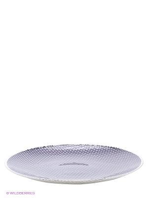 Тарелка NAVELL. Цвет: фиолетовый