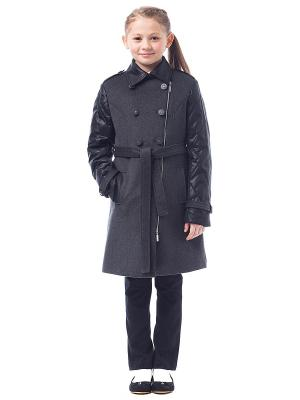 Пальто Cleverly. Цвет: серый