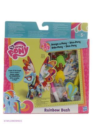 Пони с крыльями Создай свою Hasbro. Цвет: розовый, голубой, красный