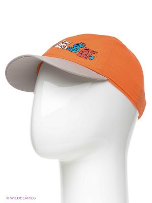Бейсболка Maxval. Цвет: оранжевый, светло-серый
