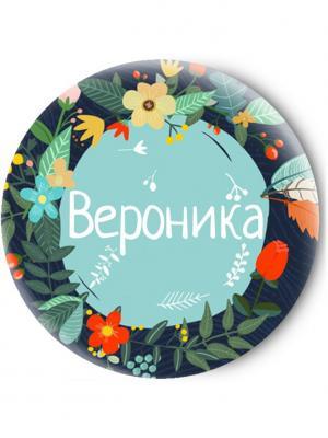 Зеркальце Tina Bolotina. Цвет: темно-синий, бирюзовый
