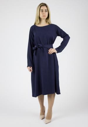 Платье Monoroom. Цвет: синий