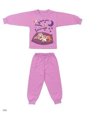 Пижамы KIDONLY. Цвет: фиолетовый, лиловый