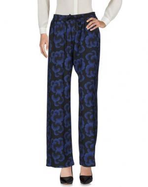 Повседневные брюки OBLÒ® UNIQUE. Цвет: синий