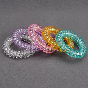 Комплект Резинок-Пружинок для волос 5 шт/уп, арт. РПВ-309 Бусики-Колечки. Цвет: разноцветный