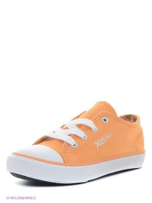 Кеды XTI. Цвет: светло-оранжевый