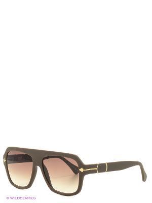 Солнцезащитные очки TM 030S 03 Opposit. Цвет: коричневый